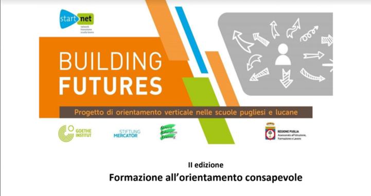 BUILDING FUTURE II EDIZIONE: percorso formativo per genitori e alunni delle scuole secondario di I grado e per docenti