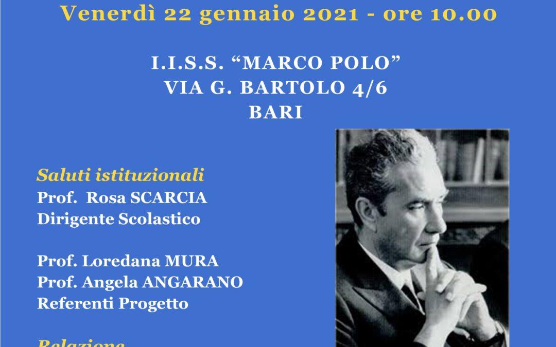 PROGETTO MORO VIVE: gli studenti incontrano l'onorevole Gero Grassi
