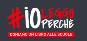 PROGETTO #ioleggoperchè: dal 21 al 29 NOVEMBRE dona un libro alla scuola