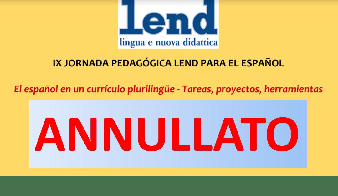 ANNULLATO CORSO FORMAZIONE PER DOCENTI: El español en un currículo plurilingüe – Tareas, proyectos, herramientas – 28 febbraio 2020 II SS MARCO POLO