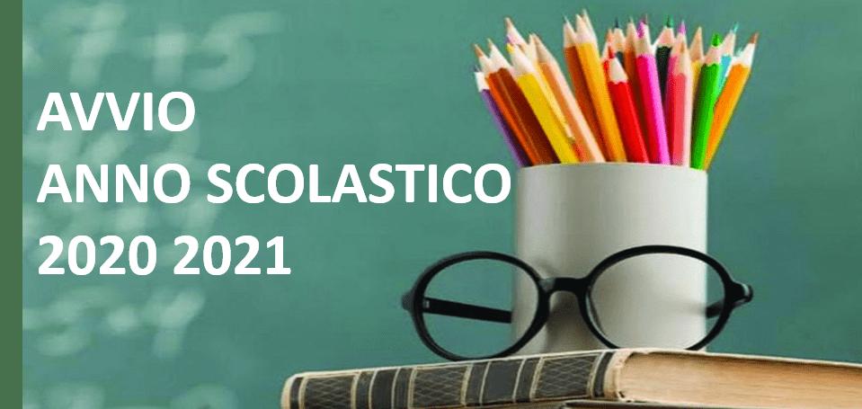 AVVIO ANNO SCOLASTICO 2020 2021- INIZIO DELLE LEZIONI-24 settembre 2020