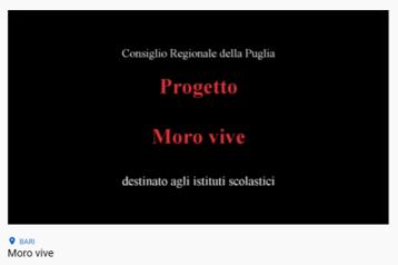 PROGETTO MORO VIVE: videolezione dell'Onorevole Gero Grassi sul caso Moro