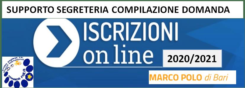 ISCRIZIONI 2020/2021: orari SEGRETERIA per compilazione domanda iscrizione